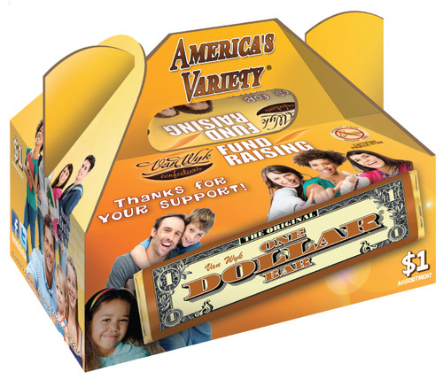 America's Variety Chocolate Candy Bar Fundraiser