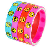 Emoji Bracelets - 36 per pack - SKU J24050