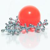 Metal Jacks With Ball Set - 12 sets per pack - SKU J02510