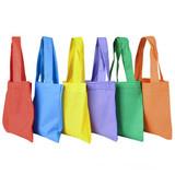 Colorful Tote Bags - 12 per pack - SKU J26090