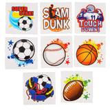 Sports Tattoos - 144 per pack - SKU S16890