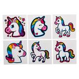 Unicorn Tattoos - 72 per pack - SKU S16790