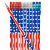 Flag Pencils - 12 per pack - SKU J25990