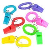 Whistle Bracelets - 12 per pack - SKU J26140