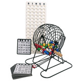 Bingo Cage - Black Coated - Bingo Equipment - SKU K001001