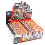 Pull Back Block Assembly Race Cars - 12 per pack - SKU F18400