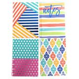Classic Notebooks - 4 per pack - SKU F18410
