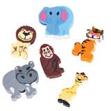Mini Zoo Animal Erasers - 144 per pack - SKU S11070