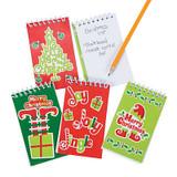 Christmas Notepads - 12 per pack - SKU XC6650