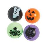 Halloween Assorted Balls - 12 per pack - SKU XH6610