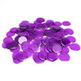 Plastic Bingo Chips - Purple - 7/8 inch size - 100 per pack - Bingo Accessories - SKU B008490PU