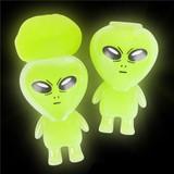 Glow in the Dark Alien Slime - 12 per pack - SKU F18100