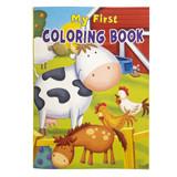 My First Coloring Book - 1 per pack - SKU EX0057