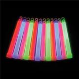 6 Inch Glow Sticks - 48 per pack - SKU J26150