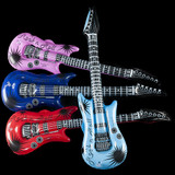 Inflatable Rock Guitars - 12 per pack - SKU J20690