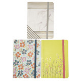 Notebook with Elastic - 3 per pack - SKU U18420