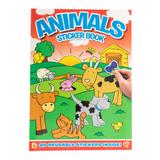 Animal Sticker Book (red)