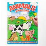Animal Sticker Book (blue)