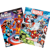 Avengers Coloring Book, set of 2