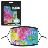 Tie Dye Adult Mask - 12 per pack - SKU F18590