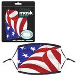 Patriotic Adult Mask, 12 ct