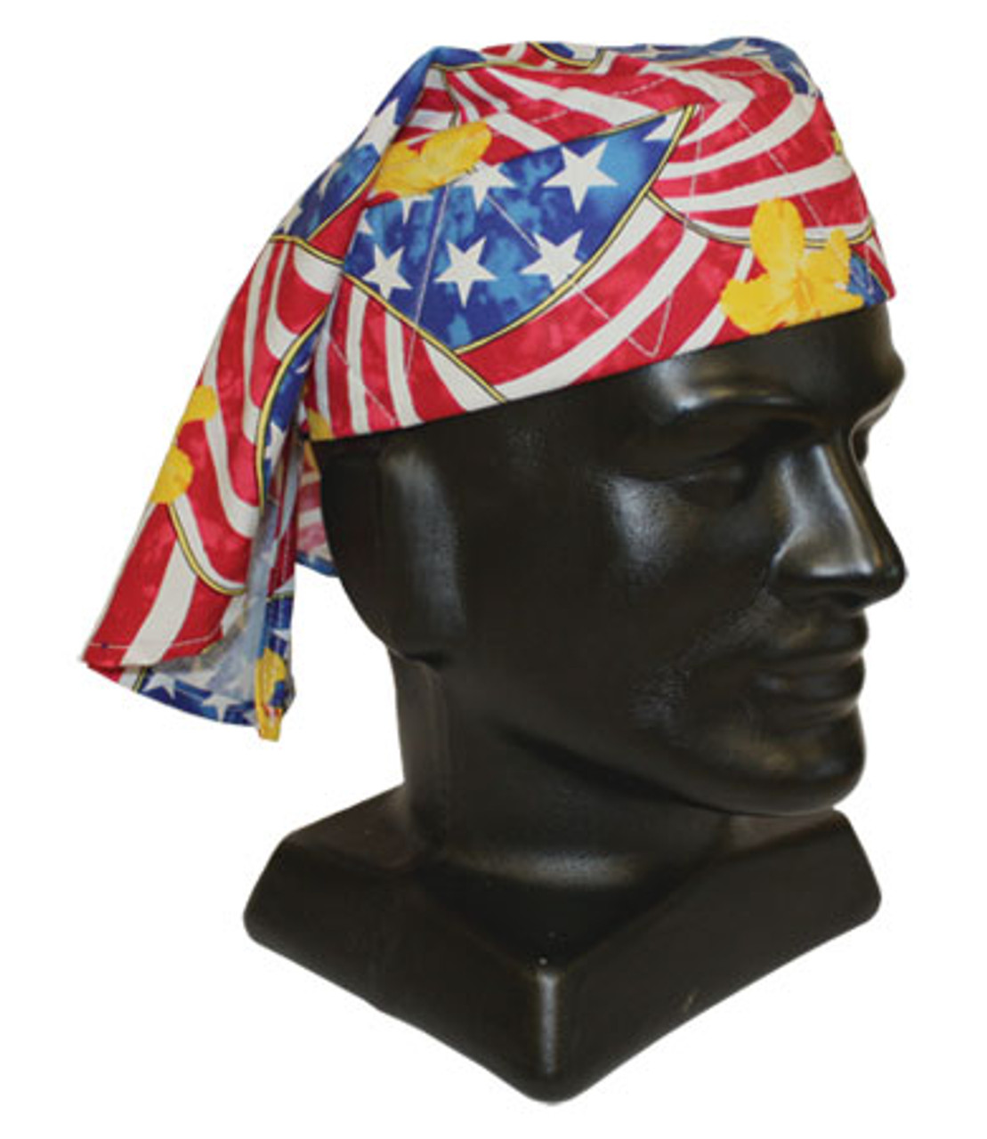 Merica First Stars Cooling Tie Hat