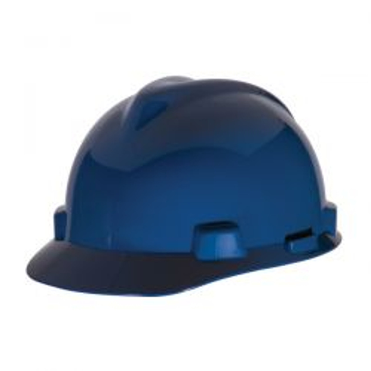 Blue Half Brim Protective Cap
