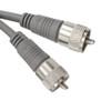 75ft UHF-UHF Mini-RG8x Cable - Gray