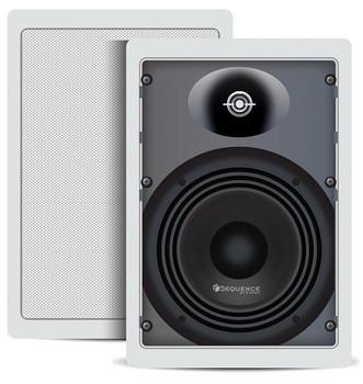 6.5in In-Wall Speakers Essentials (Pr)