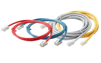 1ft White Cat6 Non-Booted UTP Patch Cord