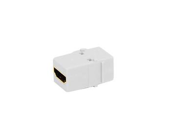 Keystone HDMI Jack Adapter White 10 Per Bag