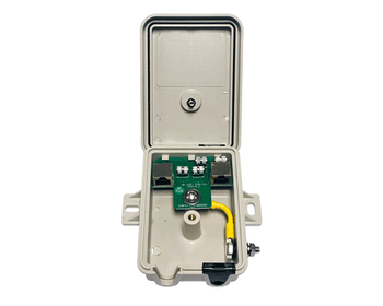 PoE CAT5e/6 Surge Unit with Grounding - Weather Proof