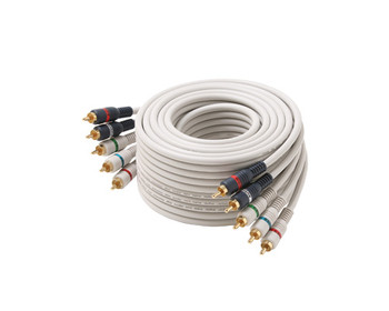 6ft 5-RCA Component A/V Cable Ivory