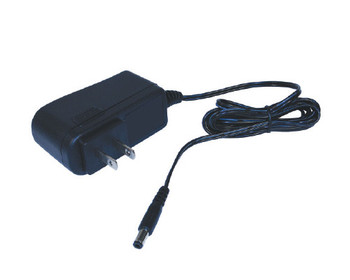 12V 1.0 Amp Wall Mount Power Supply with Clips 5.5x2.5x9.5