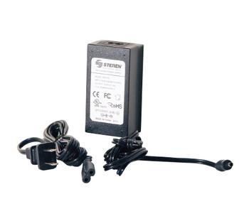 5V 4.0 amp Desk Type power supply w/ clips 4.0x1.7x10.8mm