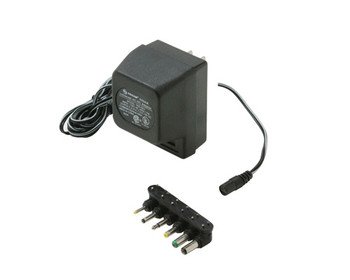 500mA AC Adapter UL Detached Universal Output Plugs