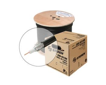 1000ft RG6 Coax Cable CCS CM cULus White Spool