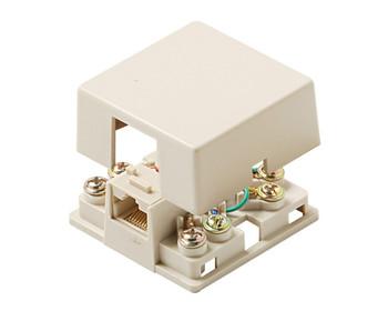 Telephone 8C RJ31X Surface Jack cULus Ivory