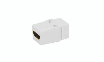 Keystone HDMI Jack Adapter White