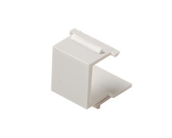 Keystone Snap-in Blank Insert White 10 Pack