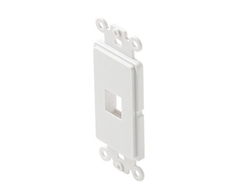 Keystone 1-Cavity Decorator Insert White 10 Per Bag