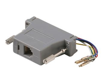 DB25S-8x8 Grey Modular Adapter