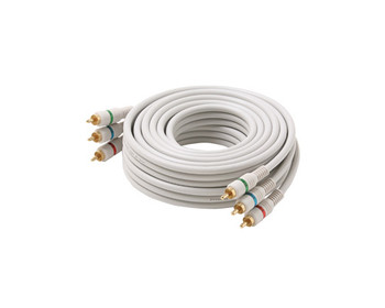 3ft 3-RCA Component Video Cable Ivory