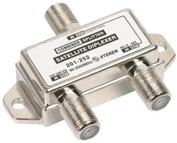 TV-Satellite Diplexer/Mixer