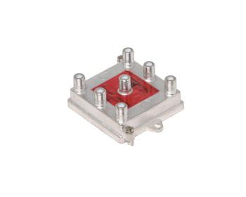 6-Way 1GHz 130dB Vertical RF Splitter