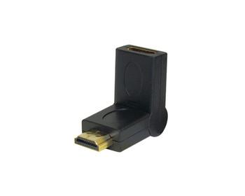 HDMI Adapter Jack to Plug Swivel