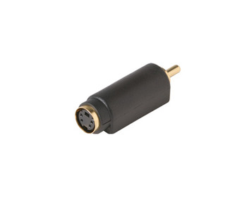 S-Video Jack to RCA Plug Adapter