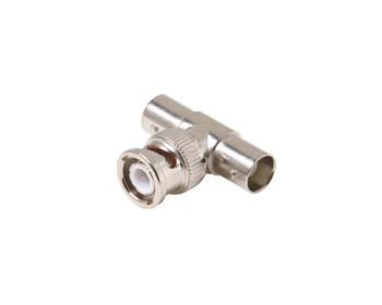 BNC T-Adapter Jack-Plug-Jack