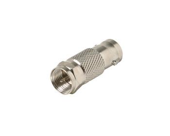 BNC Jack to F Plug Coax Adapter 25 Per Bag