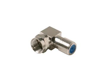 F Jack to F Plug L Coax Adapter 2.5GHz